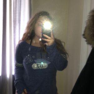Blue long sleeves shirt